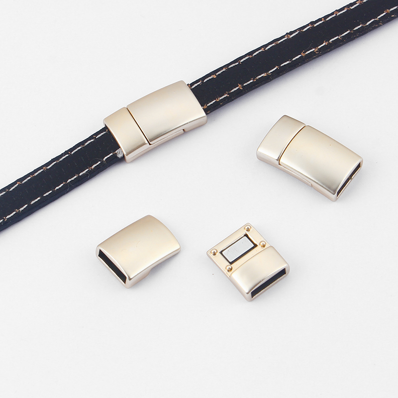 10PCS Silver Hammered Sider Spacer Beads for 5mm 10mm Flat Licorice Leather Cord