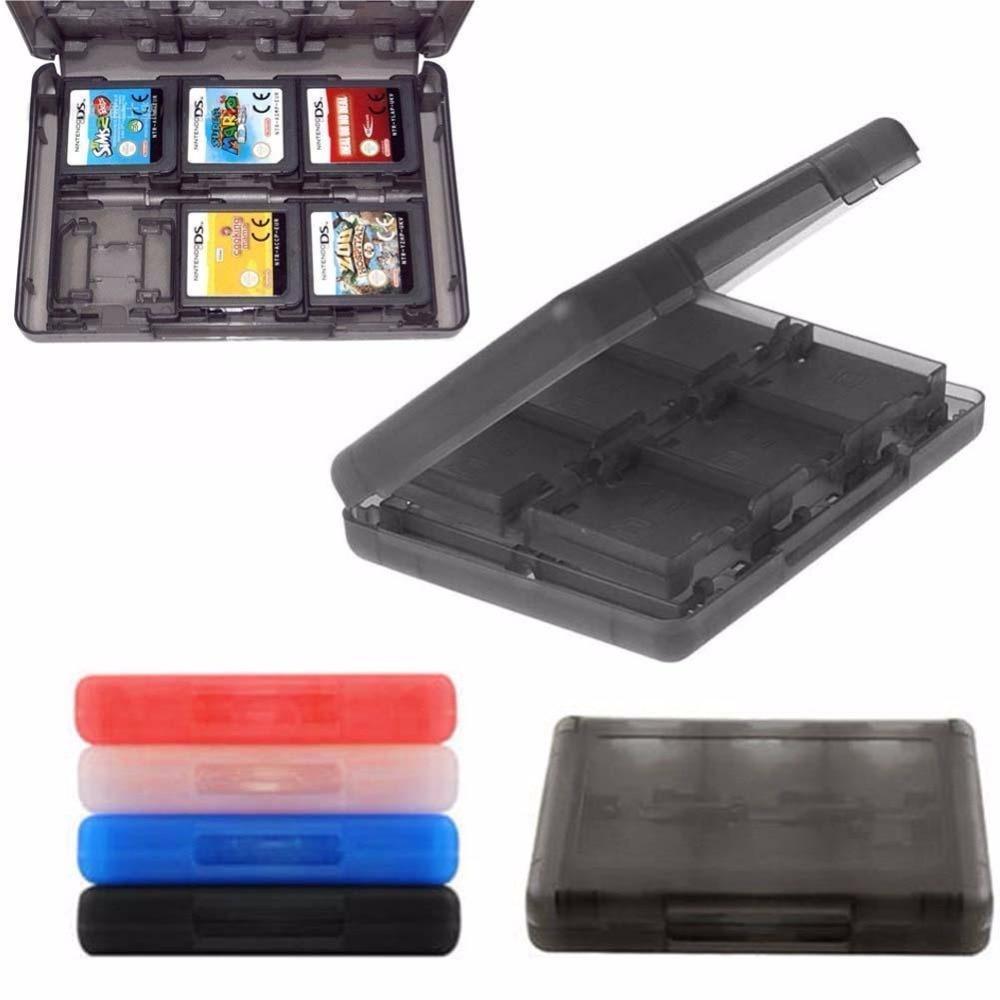 Игровые аксессуары, чехол 28 в 1, чехол для игровой карты, чехол для держателя карты памяти, держатель, хранение картриджей, коробка для Nintendo DS ...