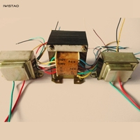 IWISTAO Tube Amplifier Transformer Kit for 6P1 6P14 6P6 Tube Amp Including 1pc 85W Power 2pcs Output Transformers HIFI Audio