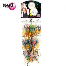 YOKII 150pieces/Display Dream Catcher Key Chain Fear Keyring Specail Gift Bag Accessories #D042