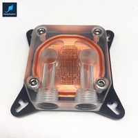 VGA Graphics Card Water Block Four Hole Micro Copper Column 53 62 General Transparent Version For
