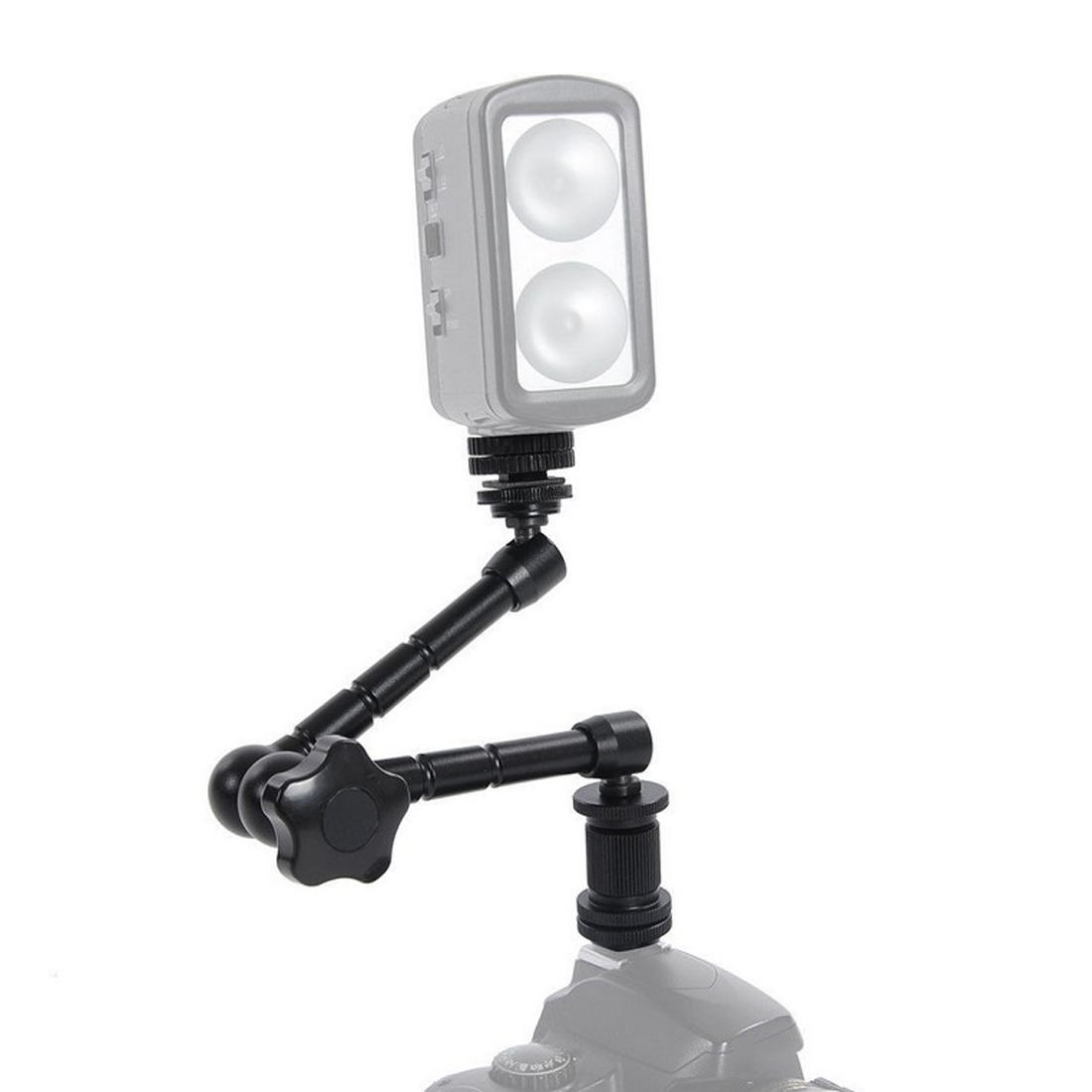 centechia 11inch Adjustable Friction Articulating Magic Arm + Super Clamp For DSLR LCD Monitor LED Light Camera Accessories