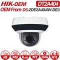 <font><b>Hikvision</b></font> OEM PTZ ip-камера DT2A404 = DS-2DE2A404IW-DE3 4MP 4X Zoom Net POE H.265 IK10 ROI WDR DNR купольная камера видеонаблюдения