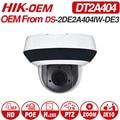 Hikvision <font><b>OEM</b></font> PTZ ip-камера DT2A404 = DS-2DE2A404IW-DE3 4MP 4X Zoom Net POE H.265 IK10 ROI WDR DNR купольная камера видеонаблюдения