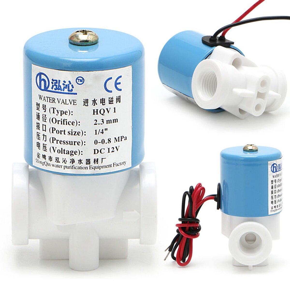 Heimwerker 100% QualitäT Stabile G1/4 hqv1 Wasser Magnetventile Normalerweise Geschlossen 2 Way Dc 0-120psi 0-0.8mpa Mayitr Magnetventil 12 V 40*30*60mm Ventil