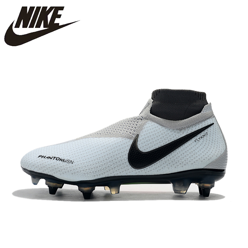 NIke Phantom VSN Elite DF SG-Pro Anti Clog Soccer Football Shoes For Men Sport Outdoor(China)