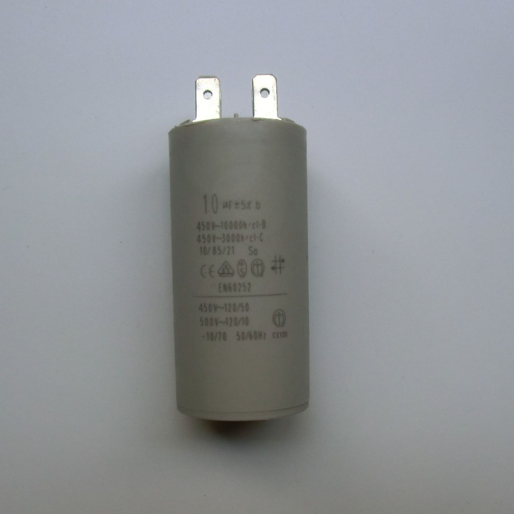 10uf 450v 50 60hz 25 70 Four Skewer Slice Cylindrical. Capacitor -in Power Tool Accessories