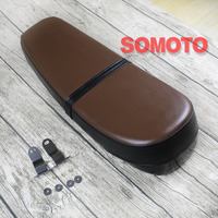 Vintage Cafe Racer cushion SR style classic seat Browm Flat motorcycle seat for Refit motor