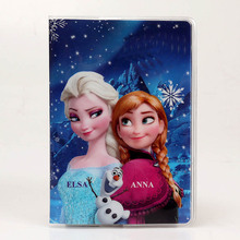 22 Styles 2018 Fashion Cartoon Elsa Superman Passport Holder PVC Leather Travel Cover Case Card ID Holders 14cm*9.6cm
