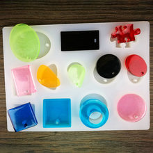 Hot Transparent UV Resin Liquid Silicone Mold Craft DIY for Earrings Necklace Making Jewelry PLD(China)