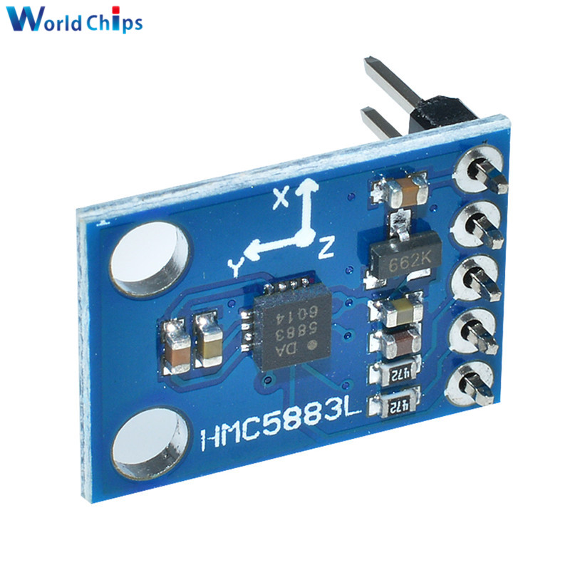 GY 273 3V 5V HMC5883L Triple Axis Compass Magnetometer Sensor Module Three Axis Magnetic Field Module For Arduino-in Integrated Circuits from Electronic Components & Supplies