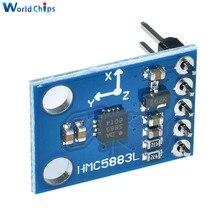 GY 273 3V 5V HMC5883L potrójna oś kompas moduł czujnika magnetometru trzy osie moduł pola magnetycznego dla Arduino