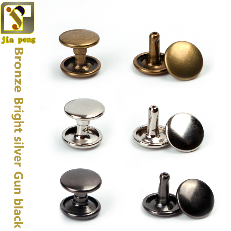 Coloured Domed Single Cap Rivets Studs Leather Sewing Crafts 5mm 6mm 7mm 8mm 9mm