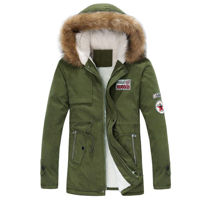 Down Coat Winter Sell Well New Letters Printed Down Jacket Warm Men's Brand Casual Fashion Hooded Down Jacket Padded Coats