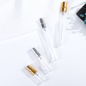 Image 5 - 50pcs 2ml 3ml 5ml 10ml Parfum Verstuiver Viaggi Spray Bottiglia Per Profumo Portatile di Vuoto Cosmetici contenitori Con Pompa In Alluminio
