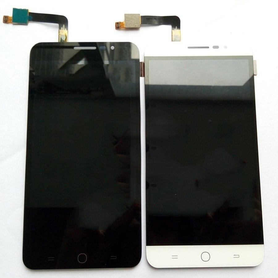 Auf Lager 100% Getestet lcd Für Coolpad E501 Lcd Display + Touch Panel Digitizer Glass + Spurhaltungszahl Mit rahmen