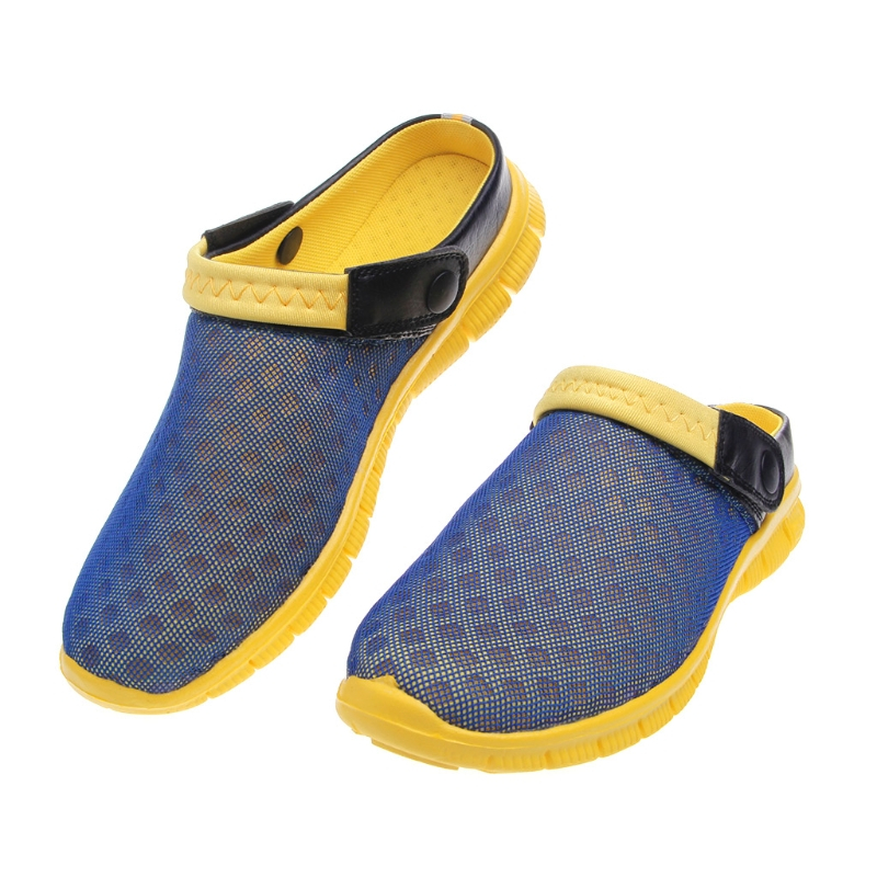 2017 Big Size Men Women Summer Shoes Sandals Beach Slipper Fashion New Mesh Breathable 39-46 Size Outside Home Inside Shoes men beach slipper fashion summer sandals casual shoes toe solid plastic fishermen comfortable water play shoes mc302