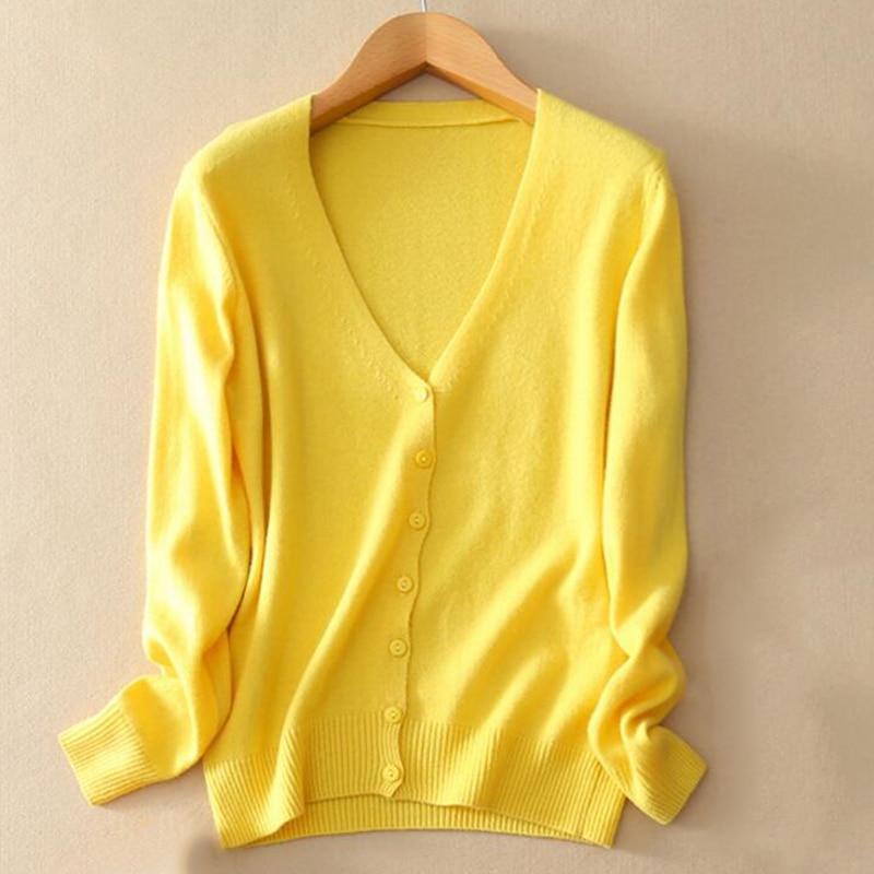 Women Sweater 2019 New Autumn Knit Cardigan Coat Thin Tops Slim Large Size Casual Long Sleeve Short Sweater Women Clothing AA210