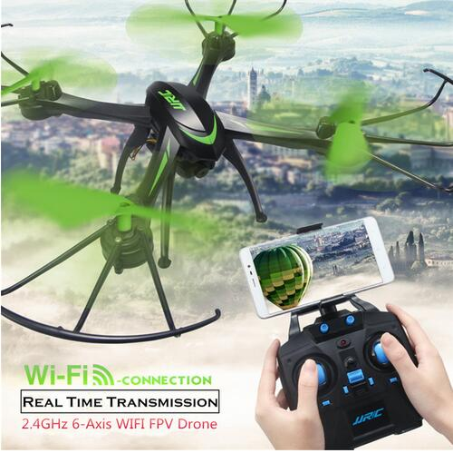 2017 New  H98WH RC Drone  WIFI FPV 2.4Ghz 4CH 6-axis Drone wiht HD Camera headless mode Remote Control  One key to return toys headless mode jjrc h20w hd 2mp camera drone wifi fpv 2 4ghz 4 channel 6 axis gyro rc hexacopter remote control toys nano copters