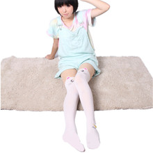Hot Anime Cosplay Costume Women Cat Socks