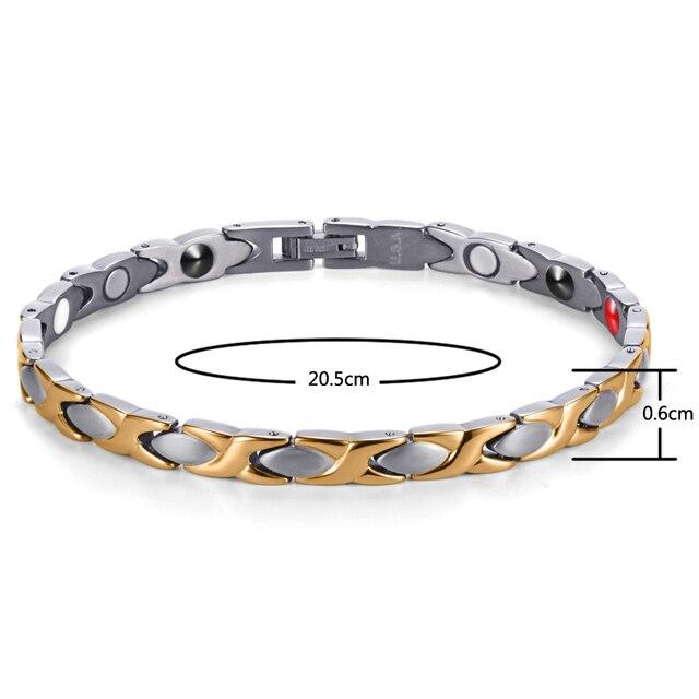 Купить магнитный браслет welmag с энергией биомагнитные титановые браслеты