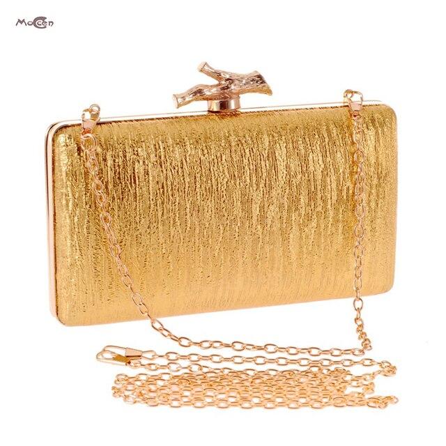 Moccen Shinny Evening Handbag Wedding Party Clutch Bag Purses Luxury Handbags Designer Day Clutches Bags For