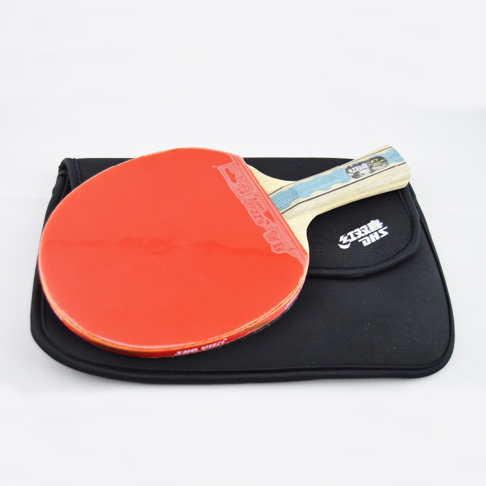 Brand DHS double Happiness 6002 Table tennis rackets blade. 6 STARS Table tennis racquet . sports raqueta ping pong hot janus professional six star table tennis blades table tennis rackets racquet sports ping pong paddles quick attack rackets