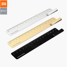 Xiaomi Kaco Metal Ruler Bookmark Ruler Drafting Cartography Ruler Student Learning School Office Stationery Supplies