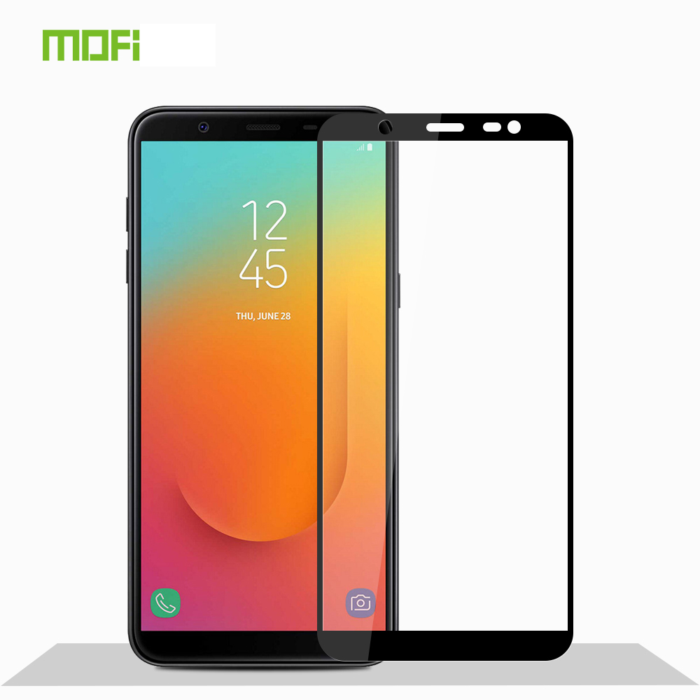 For Samsung Galaxy J8 2018 Tempered Glass MOFI Full Screen Coverage Protector Film
