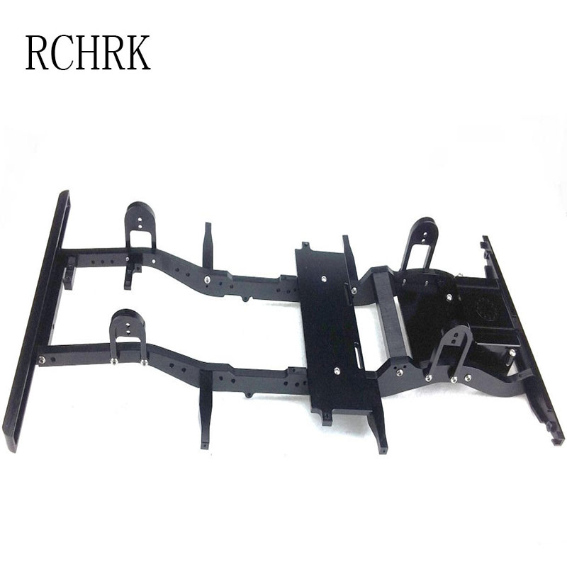 RC model car D90 frame model car climbing frame chassis car beam durable rc car defender frame set for