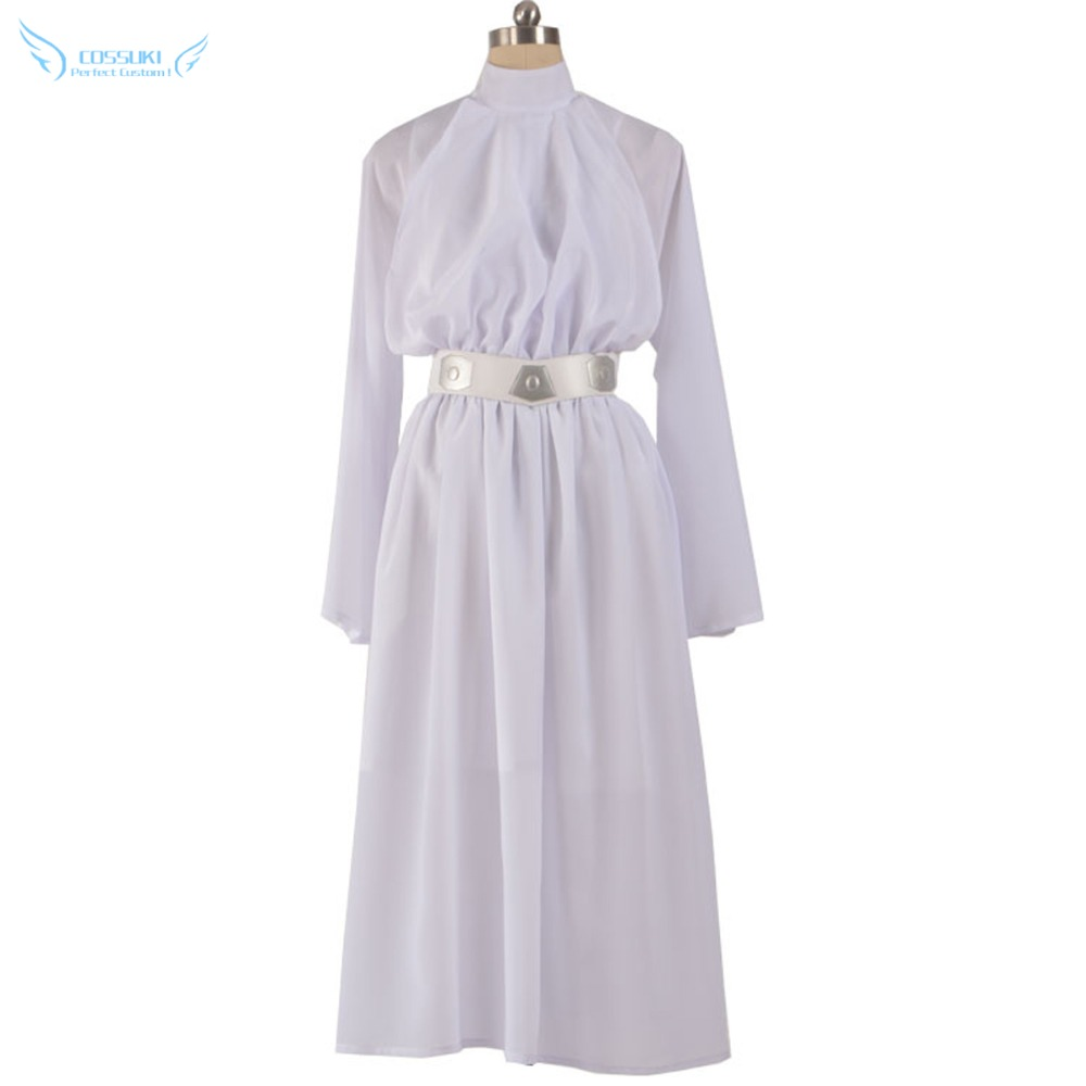 Stock Star Wars Princess Leia Organa Solo Dress Cosplay Costume Perfect Custom For You