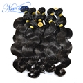 New star cambodian virgin hair extensions body wave weaves wavy 10bundles mixed lengths 100% unprocessed with cuticle human hair
