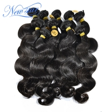 New star cambodian virgin hair extensions body wave weaves wavy 10bundles mixed lengths 100 unprocessed with
