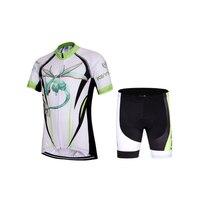 Bambini 2018 Panda logo ciclismo maglia manica corta maglia gel pad bike abbigliamento bici di usura ragazzi e ragazze