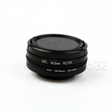 4 in 1 40.5mm CPL Filters + UV Filter + 40.5mm Lens Cap for SJCAM SJ8 AIR PLUS P