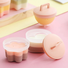 4 Pcs/Set Cute Egg Poacher Cooker Set Plastic Egg Boiler Kitchen Egg Cooker Tools Egg Mold Form Maker Pancake Maker