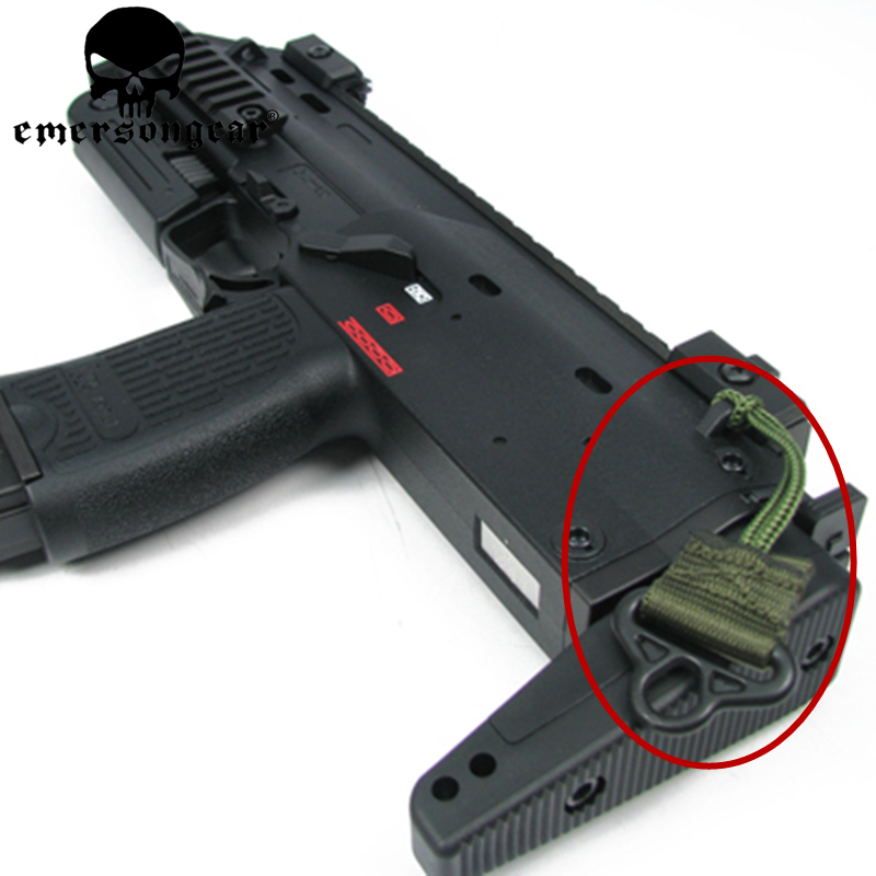Tactical Mp7 Sling Adapter Lightweighting Single Band Hanging Buckle Backpack Package With Hanging Buckle Hunting Accessories