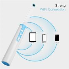 هد 1080P داخل الفم المنظار اللاسلكية واي فاي الفم الأسنان كاميرا قابل للتعديل 8 مصباح ليد كابل يو اس بي الفم التفتيش لأداة طبيب الأسنان