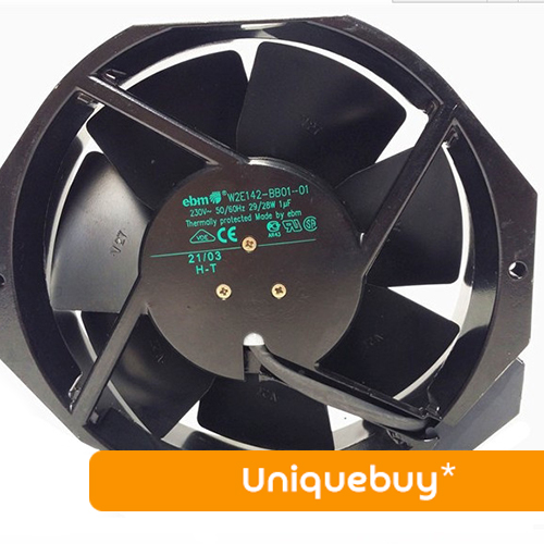 29/28W for EBMPAPST 220V All metal W2E142-BB01-01 cooling fan original ebmpapst17238 230v w2e142 bb01 01 cooling fan