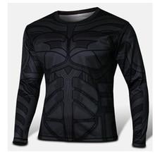 New 2016 Batman Spiderman Ironman Superman Captain America Winter soldier Marvel T shirt Avengers Costume Comics Superhero mens