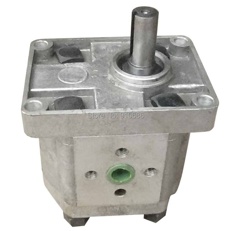 Hydraulic pump gear pump CBN-E316-FPR CBN-F316-FPR CBN-E318-FPR CBN-F318-FPR high pressure oil pump gear pump cbn e316l left rotation with flange no end oil outlet splined long shaft of dongfeng tractor