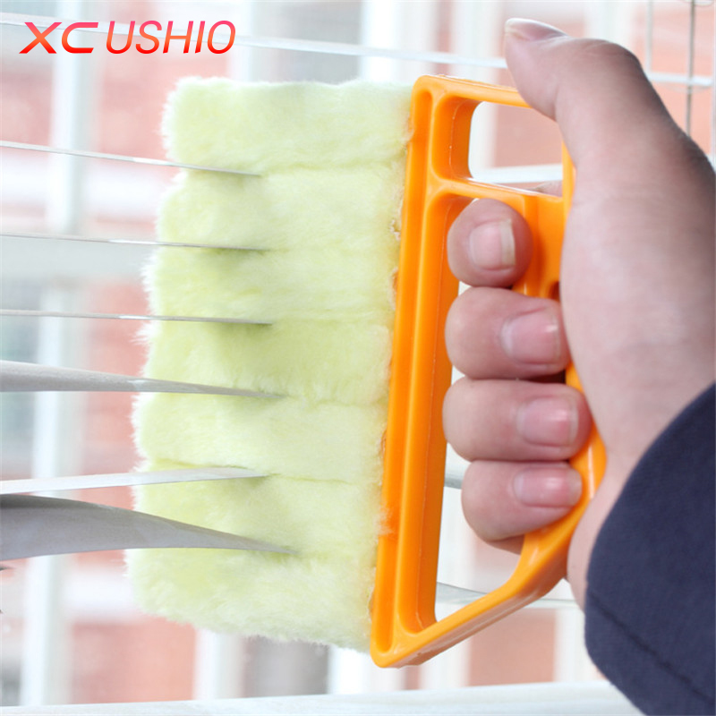 Blinds Special Cleaning Brush Washable Vertical Window Blinds Brush 7 Shape Hand Held Household Magic Brush