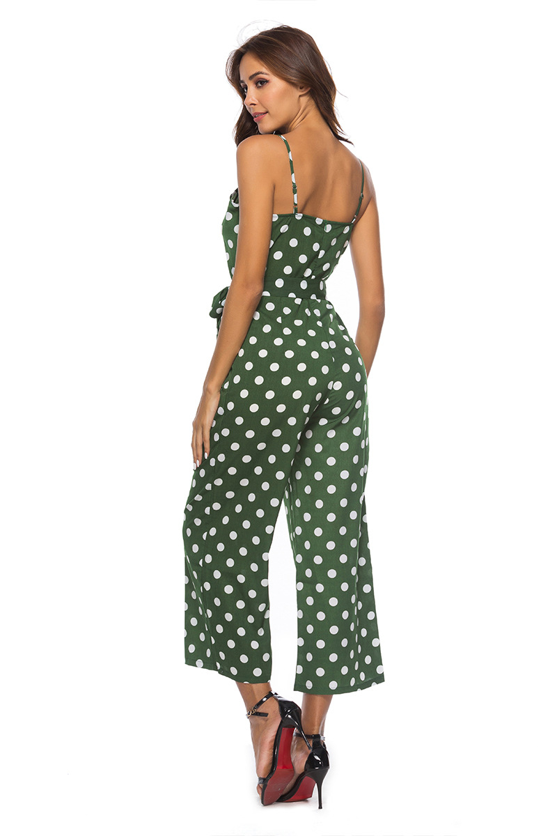 HTB19jIKbnHuK1RkSndVq6xVwpXam - Women Rompers summer long pants elegant strap woman jumpsuits polka dot plus size jumpsuit off shoulder overalls for womens