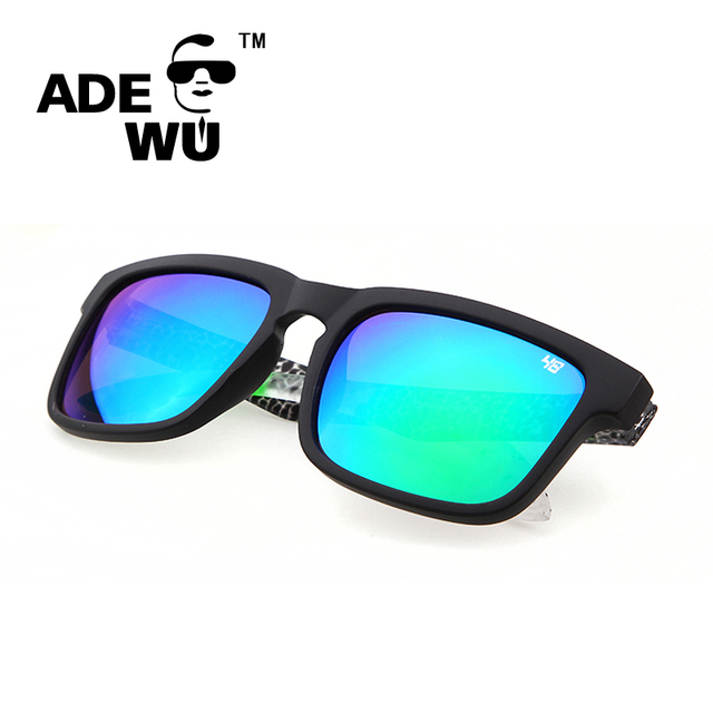 Men Women Outdoor Square Sunglasses Reflective Coating