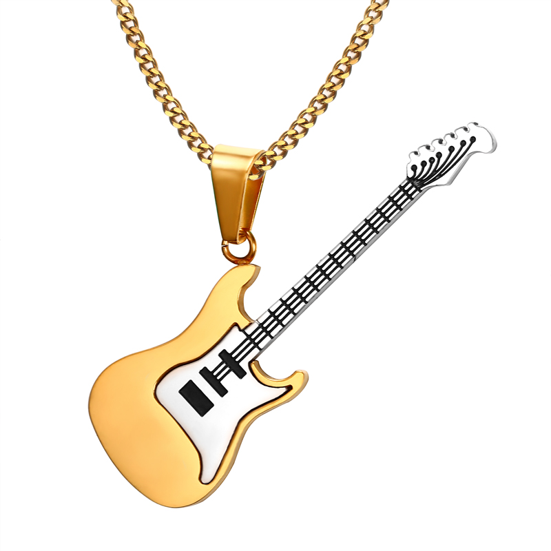 Men Musical Jewelry Stainless Based Rocks