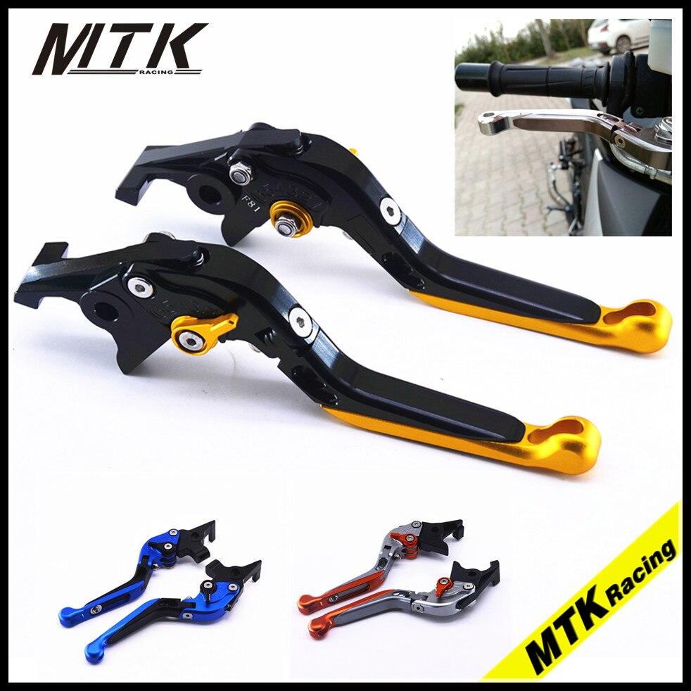 MTKRACING Adjustable Folding Extendable For SUZUKI GSXR 600/750/1000 GSR600/750 TL1000S SFV/DL 650 Brake Clutch Lever for suzuki gsxr 600 750 gsxr600 gsxr750 96 03 gsxr1000 01 04 motorcycle adjustable folding extendable brake clutch lever blue