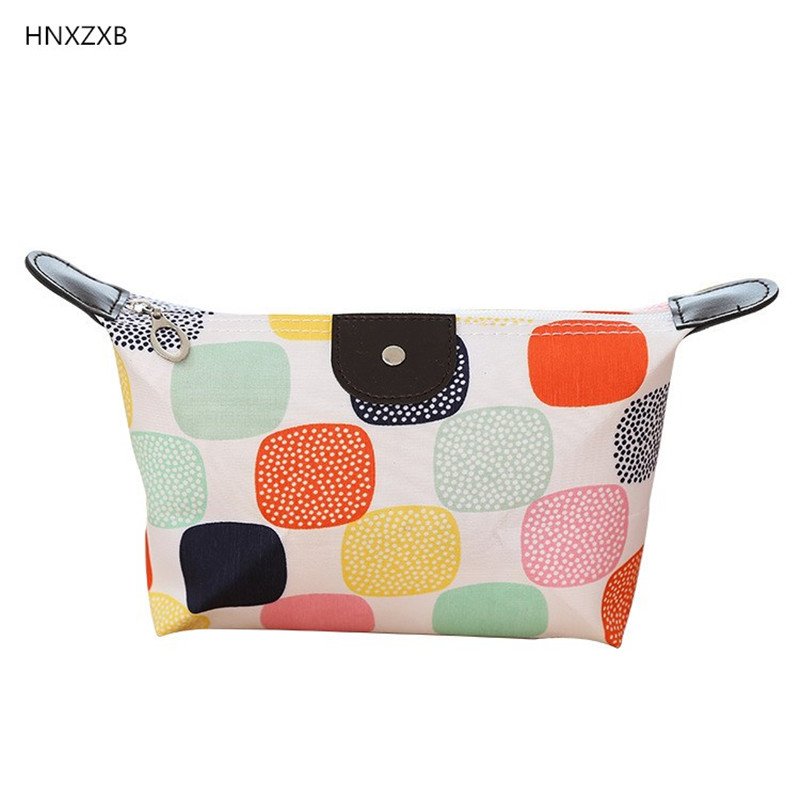 HNXZXB Cosmetic New Portable Women Makeup bag Toiletry bag Travel Wash pouch Cosmetic Bag Make Up Organizer Storage beauty Case msq make up bag pink and portable cosmetic bags for professional makeup artist toiletry case new arrival