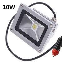 10W 20W led Floodlight 12V 24V Exterior lighting Flood lamp Cigarette lighter plug car maintenance lights 3m cable