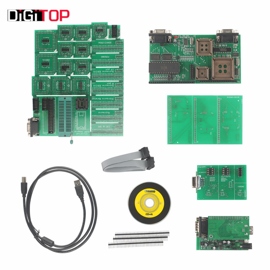 UPA USB V1.3.0.14 With Full Adaptors UPA ECU Chip Tunning with CD by Free Shipping