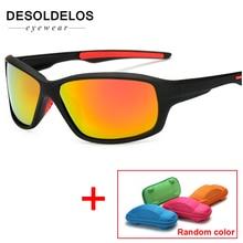 Sunglasses Men Polarized Women Square Sun Glasses 2019 Male Female Driving Sunglasses Retro Luxury Brand Designer with box